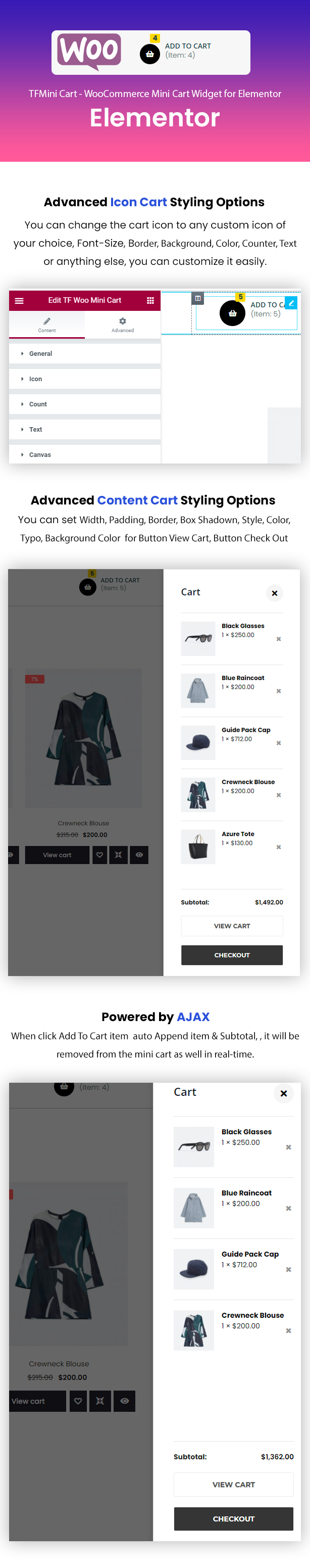 TFProduct - WooCommerce Product Elementor Addons